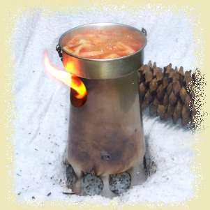 Trailstove the camp stove for the intelligent backpacker Propane stove left on overnight